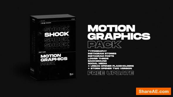 Videohive Shock | Motion Graphics Pack