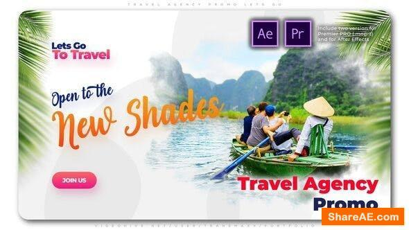 Videohive Travel Agency Promo Lets Go - Premiere Pro