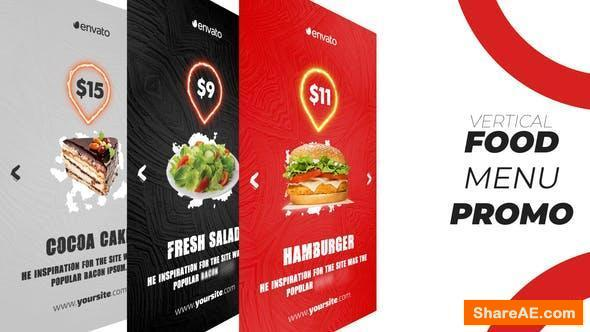 Videohive Food Menu Promo (Vertical)