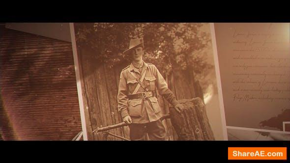 Videohive A Soldiers Tale