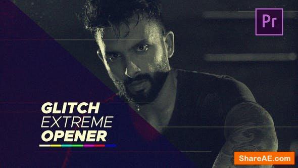 Videohive Glitch Extreme Opener - Premiere Pro