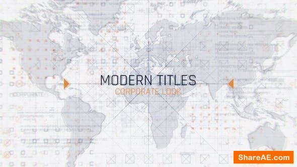 Videohive Technological Corporate Titles