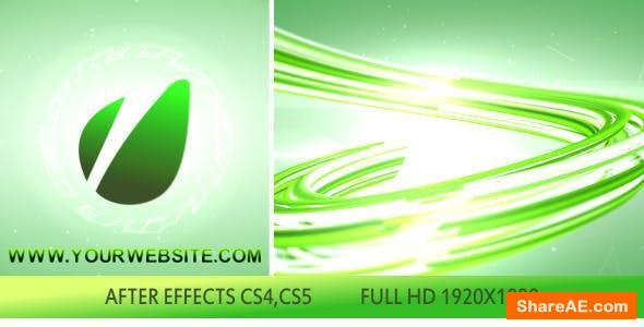 Videohive 3D Lines Logo Opener