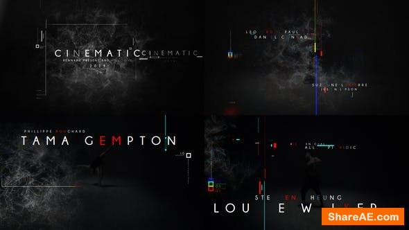 Videohive Film Titles Opener 23762920