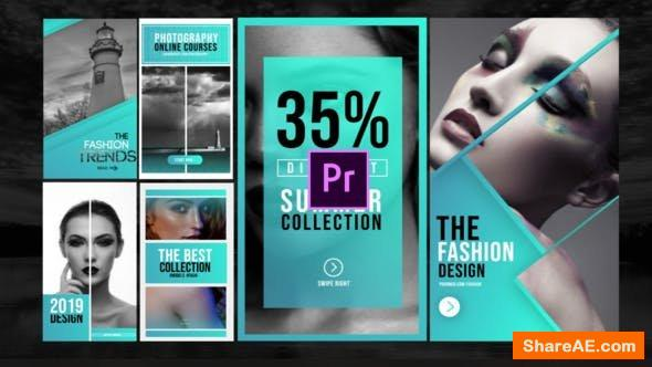 Videohive Instagram Photo Stories-MOGRT - Premiere Pro