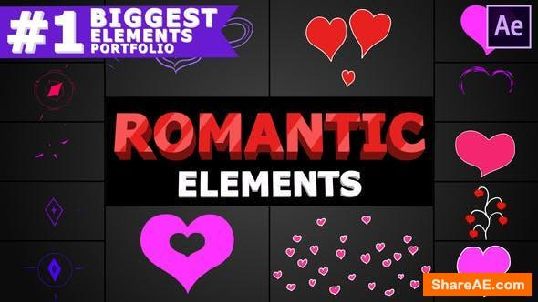 Videohive Romantic Elements | After Effects