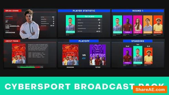 Videohive Cybersport Show