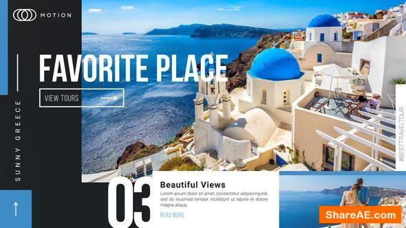 Videohive Favorite Place - Travel Holiday Promotion