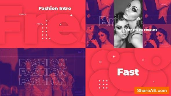 Videohive Fresh Fashion Intro
