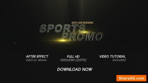 Videohive Sports Promo l Sports Titles l Sports Trailer