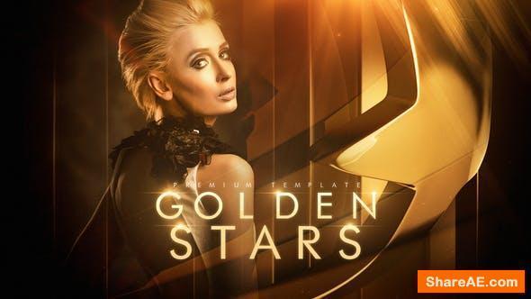 Videohive Golden Stars