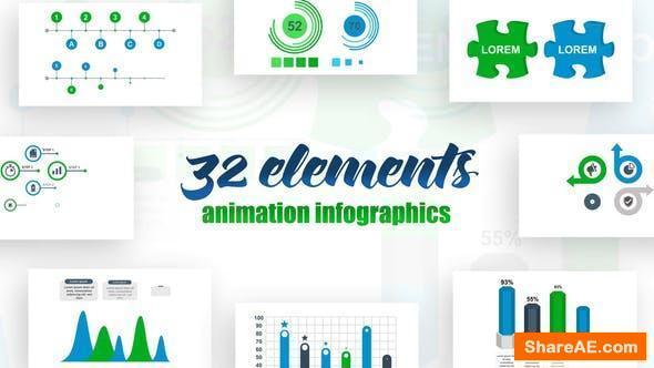 Videohive Infographics Vol.17