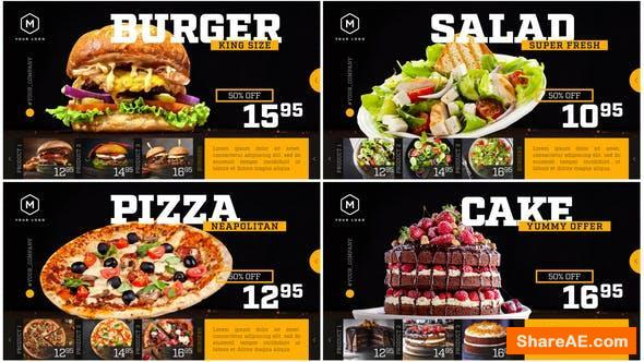 Videohive Restaurant Menu - Food Promotion
