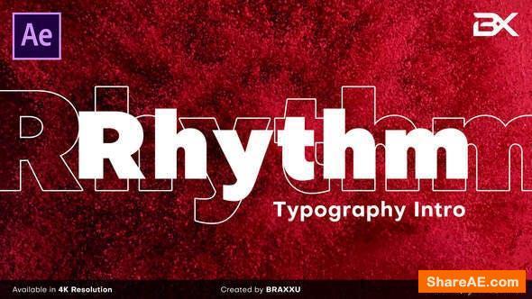 Videohive Rhythm Typography Intro
