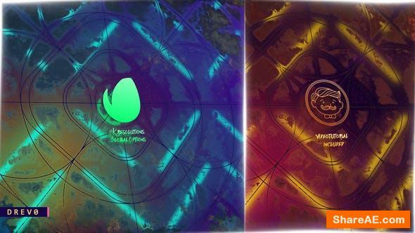 Videohive Old Mirror Lines Logo