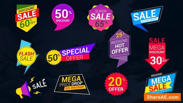 Videohive Sale Lables & Badges