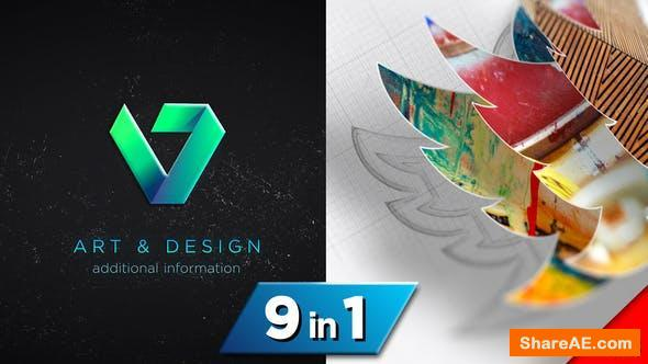 Videohive Drawing 3D Logo Reveal v3