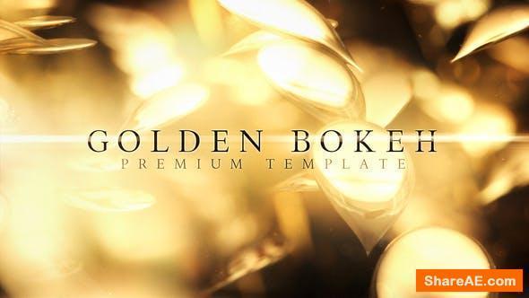 Videohive Golden Bokeh