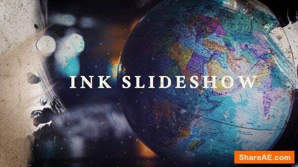 Videohive Ink Slideshow 23692668