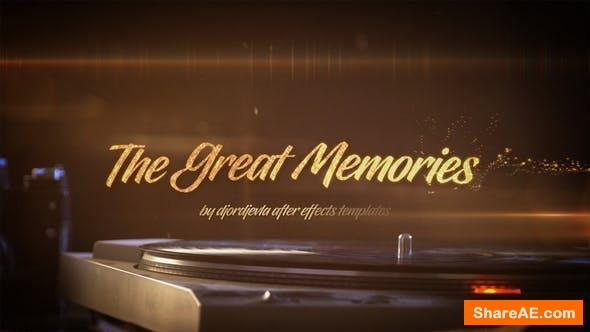 Videohive The Great Memories