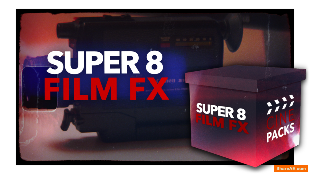 Super 8 Film FX - CinePacks