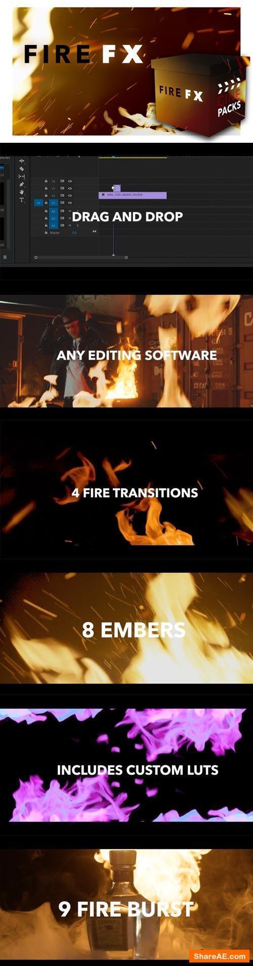 Fire FX - CinePacks