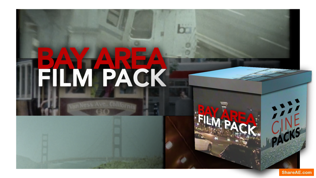 Bay Area Film Pack - CinePacks