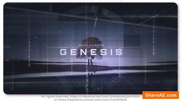 Videohive Genesis Digital Slideshow
