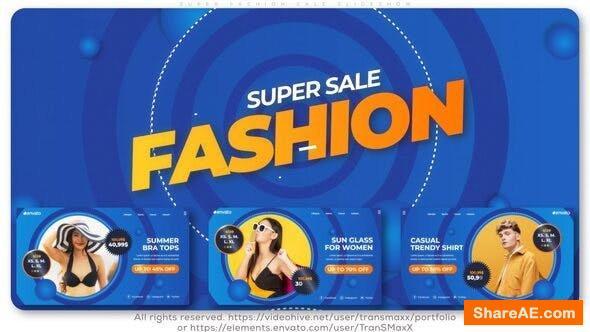 Videohive Super Fashion Sale Slideshow