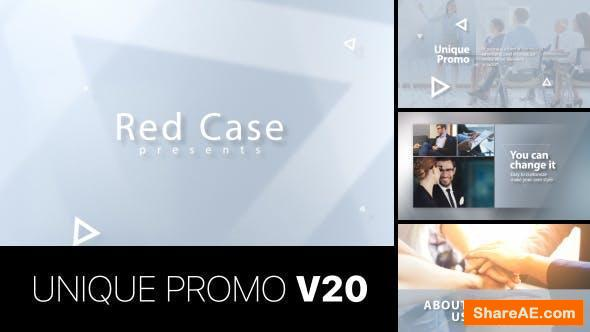 Videohive Unique Promo v20 | Corporate Presentation