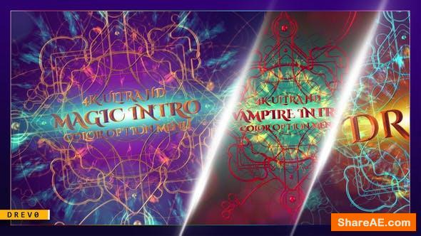 Videohive Magic Intro/ Elegant Particles/ Gothic Epic Metal 3D/ TV/ Shockwave/ Fire Explosion/Mystical Light