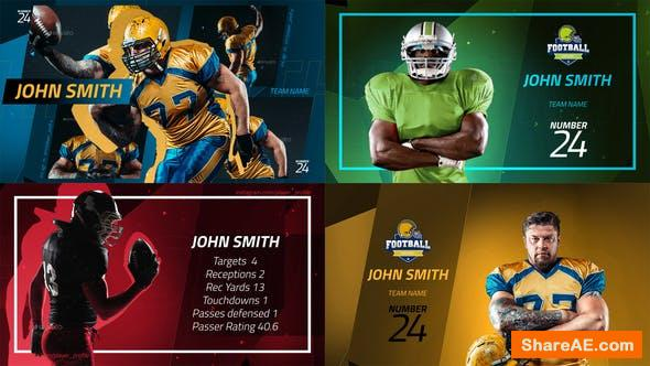 Videohive Sport Player Profiles Pack