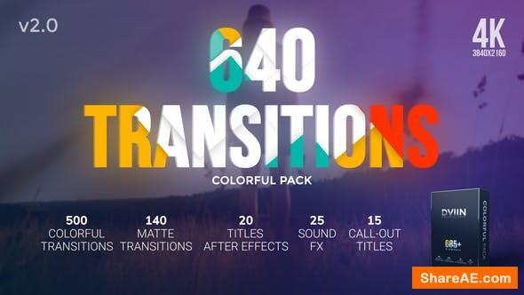 Videohive Transitions v2 20546823