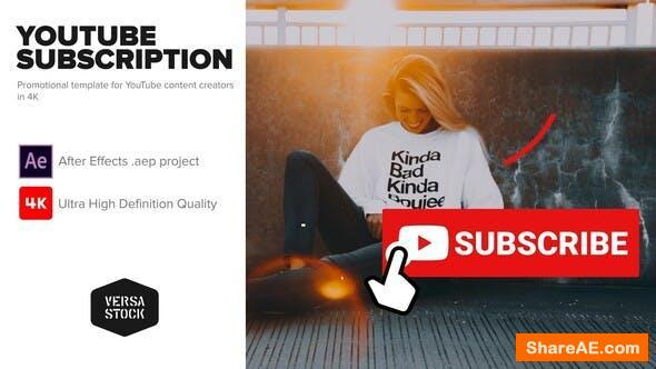 Videohive YouTube Subscribe Like Get Notified Promotion Kit