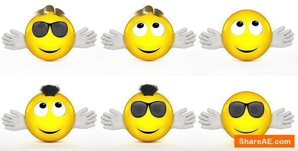 Videohive Emoji Logo Reveal