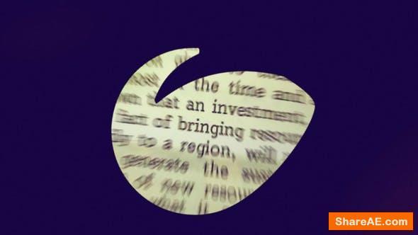 Videohive Logo Reveal 22428018