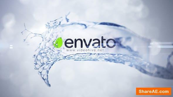 Videohive Splash Logo 18174607