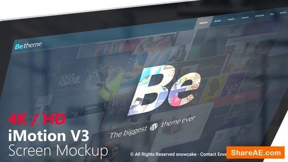 Videohive iMotion Screen Mockup