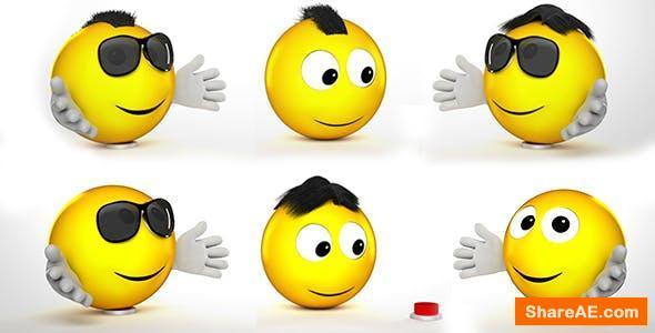 Videohive Funny Emoji Logo Reveal