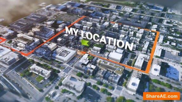 Videohive Satellite Real Map Generator Kit