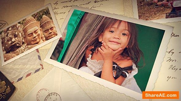 Videohive Old Photography Retro Slideshow