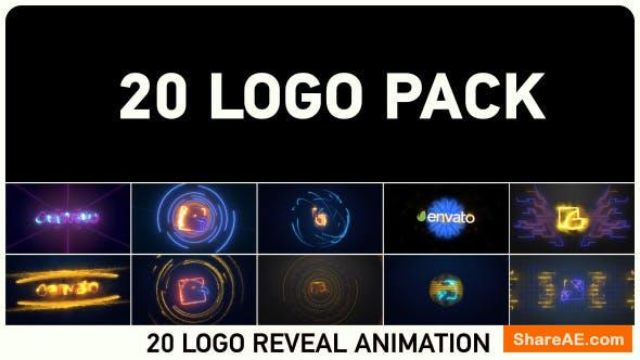 Videohive 20 Logo Pack