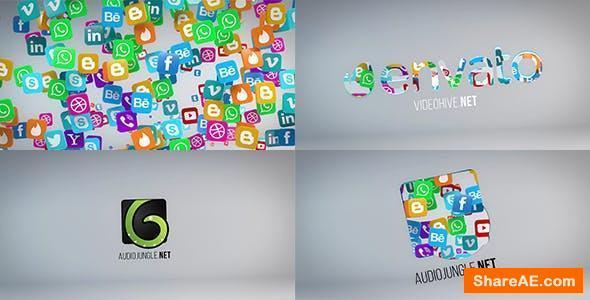 Videohive Social Media Logo Reveal 20653673