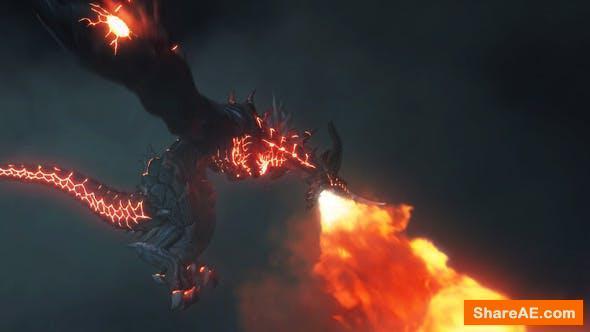 Videohive Dragon Fire Breath Logo