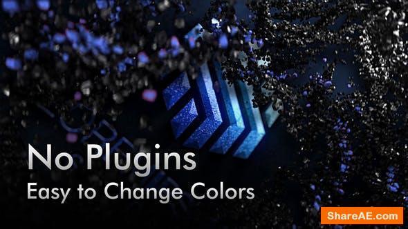 Videohive Black Rock Particles. 5 Color Presets.