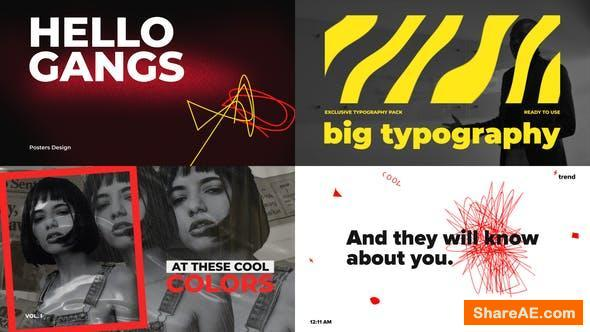 Videohive Big Bold Typography