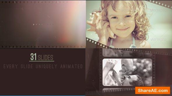 Videohive Light Leak Slide