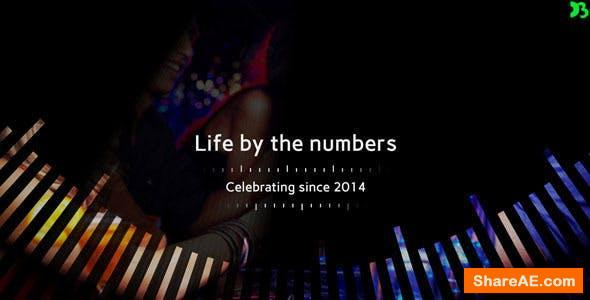 Videohive Life By The Numbers