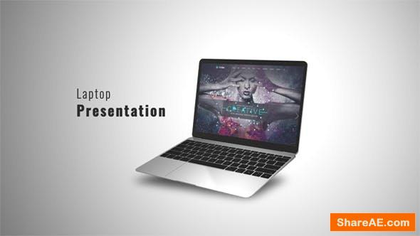 Videohive Laptop Presentation 2