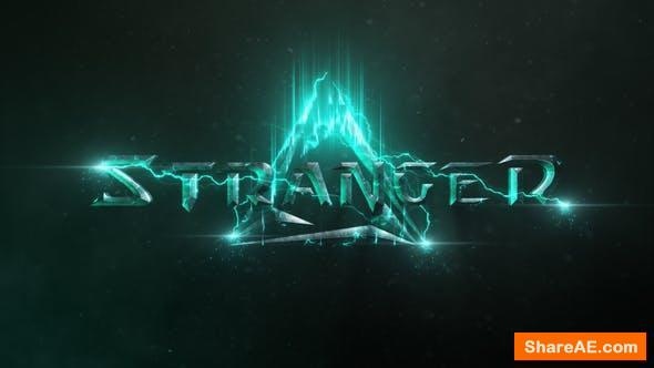 Videohive Cinematic Logo Reveal 21737746